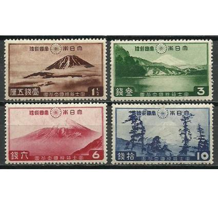 Znaczek Japonia 1936 Mi 218-221 Z podlepką *