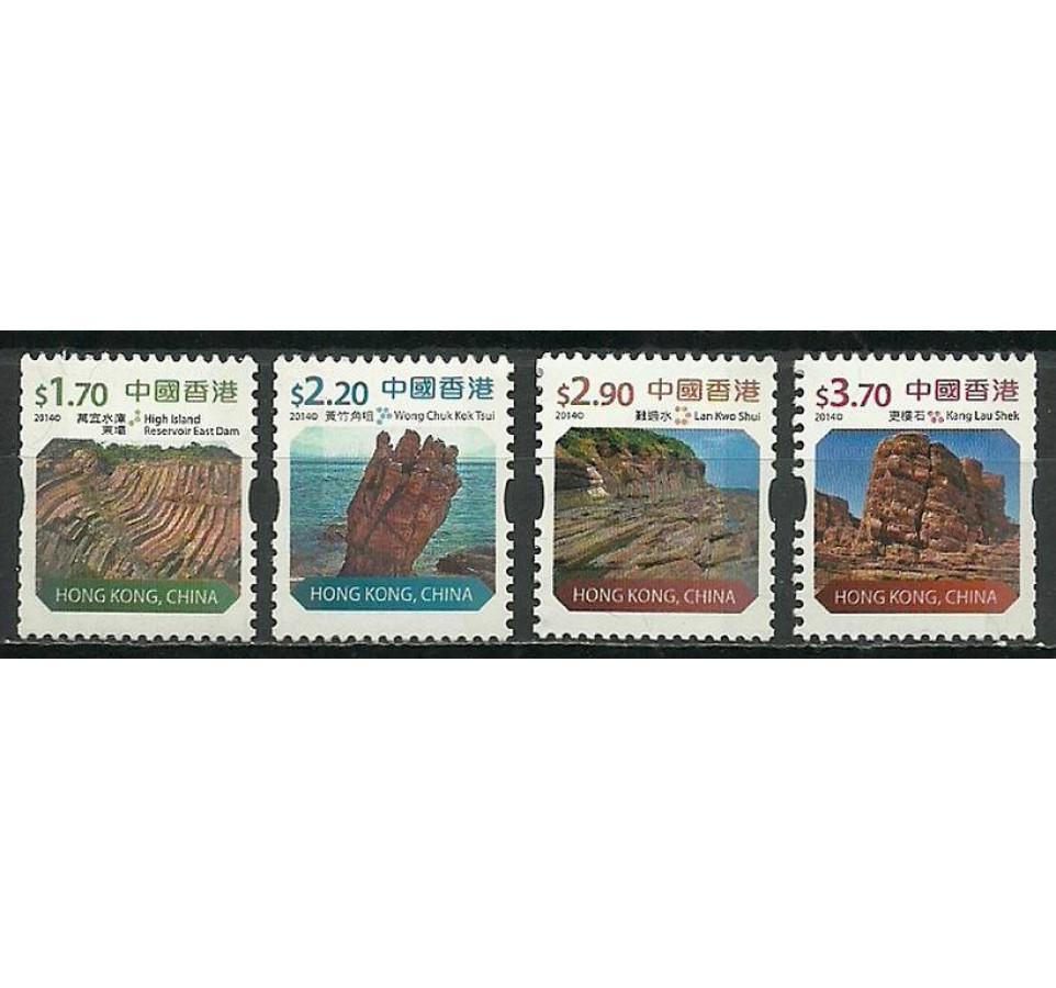 Hong Kong 2014 Mi 1913-1916 Czyste **