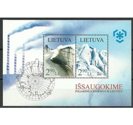Znaczek Litwa 2009 Mi bl 38 Czyste **