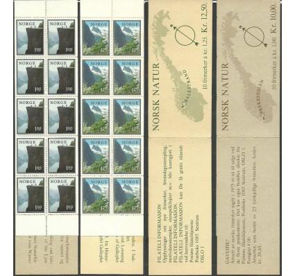 Znaczek Norwegia 1976 Mi mh 726-727 Czyste **