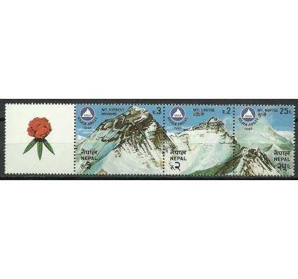 Znaczek Nepal 1982 Mi 420-422 Czyste **