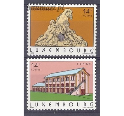 Luksemburg 1993 Mi 1316-1317 Czyste **
