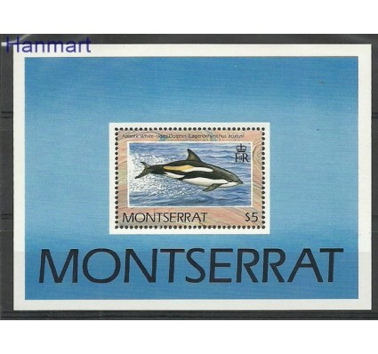 Znaczek Montserrat 1990 Mi bl 59 Czyste **