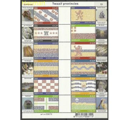Znaczek Holandia 2002 Mi ark 1992-3+...2026-9 Czyste **