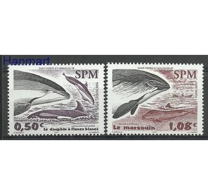 Znaczek Saint-Pierre i Miquelon 2004 Mi 900-901 Czyste **