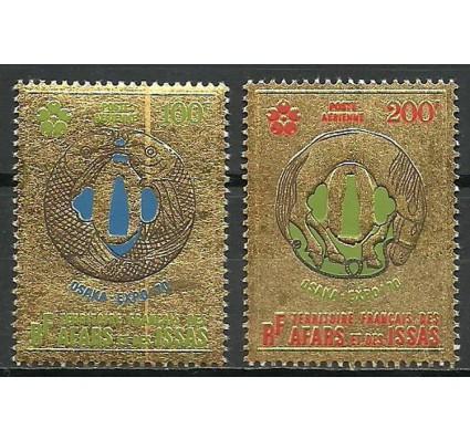 Znaczek Francuskie Terytorium Afarów i Issów 1970 Mi 43-44 Czyste **