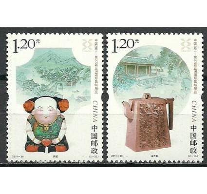 Znaczek Chiny 2011 Mi 4325-4326 Czyste **
