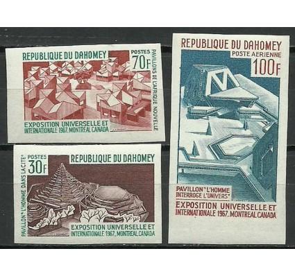 Znaczek Dahomej 1967 Mi 315-317B Czyste **