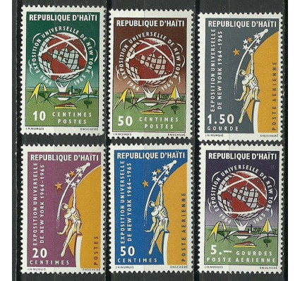 Znaczek Haiti 1965 Mi 812-817 Czyste **