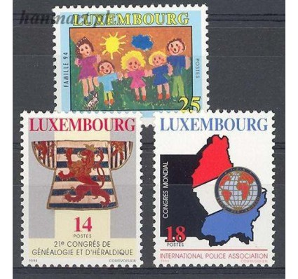 Luksemburg 1994 Mi 1342-1344 Czyste **