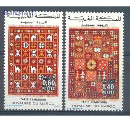 Znaczek Maroko 1983 Mi 1038-1039 Czyste **