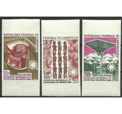 Znaczek Kamerun 1967 Mi 525-527B Czyste **