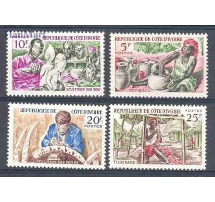 Znaczek Wybrzeże Kości Słoniowej 1965 Mi 278-281 Czyste **