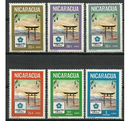 Znaczek Nikaragua 1970 Mi 1568-1573 Czyste **