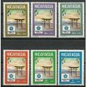 Nikaragua 1970 Mi 1568-1573 Czyste **