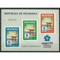 Nikaragua 1970 Mi bl 71 Czyste **