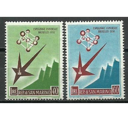 Znaczek San Marino 1958 Mi 590-591 Czyste **