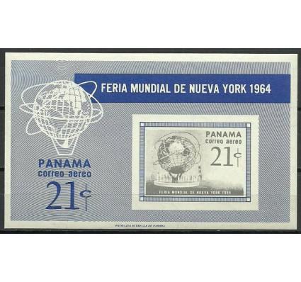 Znaczek Panama 1964 Mi bl 24B Czyste **