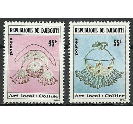 Znaczek Dżibuti 1978 Mi 218-219 Czyste **