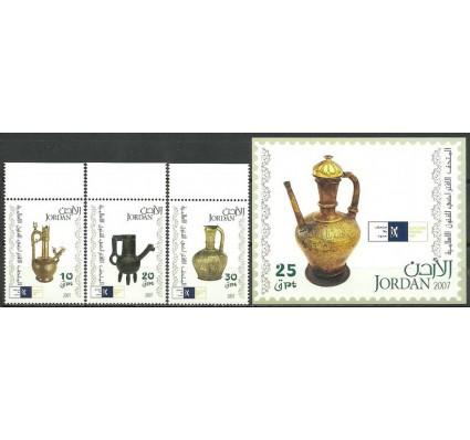 Znaczek Jordania 2007 Mi 1941-1943+bl 124 Czyste **