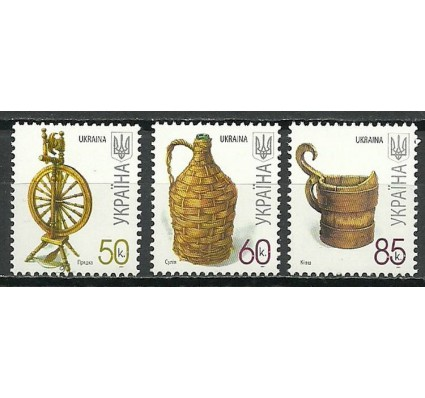 Znaczek Ukraina 2007 Mi 833+834+836 Czyste **
