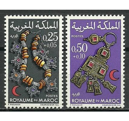 Znaczek Maroko 1970 Mi 668-669 Czyste **