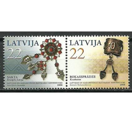 Znaczek Łotwa 2008 Mi 672-673 Czyste **