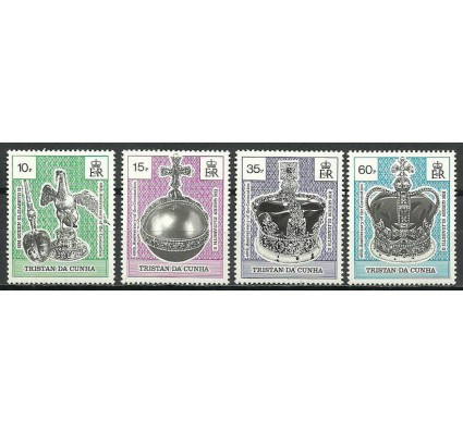 Znaczek Tristan da Cunha 1993 Mi 537-540 Czyste **