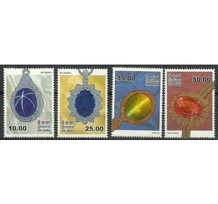 Znaczek Sri Lanka 2015 Mi 2040-2043 Czyste **