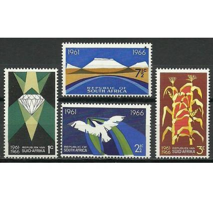 Znaczek Republika Południowej Afryki 1966 Mi 348+350+352+354 Czyste **