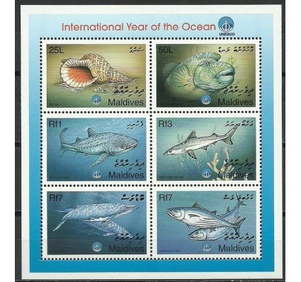 Znaczek Malediwy 1999 Mi ark3161-3166 Czyste **