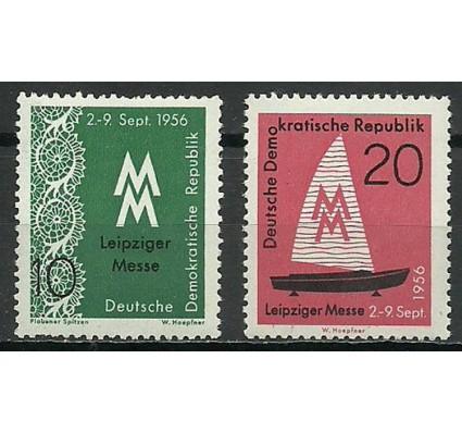 Znaczek NRD / DDR 1956 Mi 536-537 Czyste **
