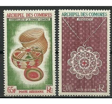 Znaczek Komory 1963 Mi 58-59 Czyste **