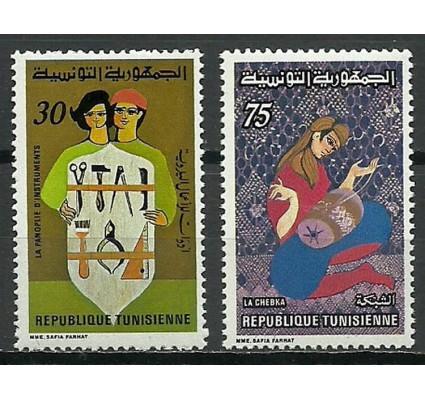 Znaczek Tunezja 1980 Mi 973-974 Czyste **