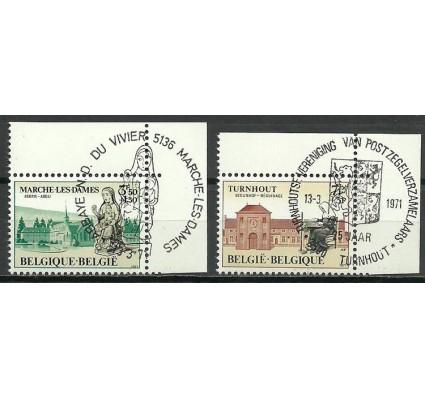 Znaczek Belgia 1971 Mi 1629-1630 Stemplowane