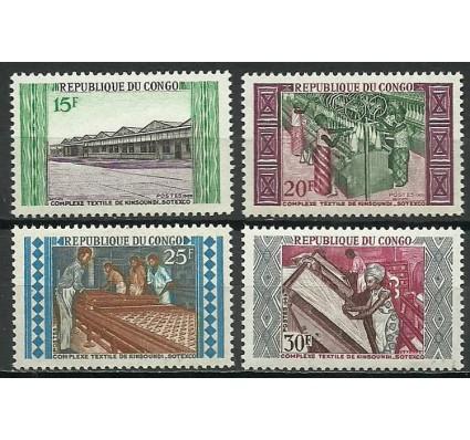 Znaczek Kongo 1970 Mi 201-204 Czyste **