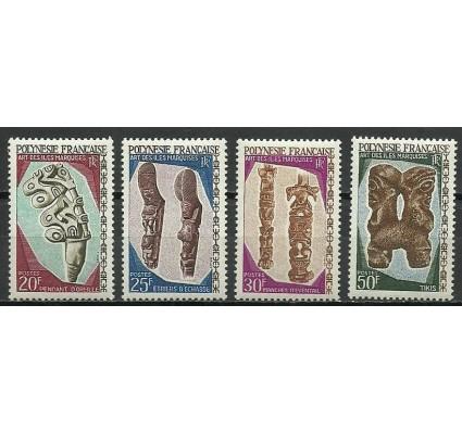 Znaczek Polinezja Francuska 1967 Mi 75+77+78+80 Czyste **