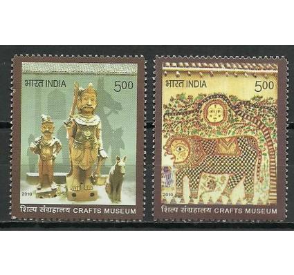 Znaczek Indie 2010 Mi 2537-2538 Czyste **