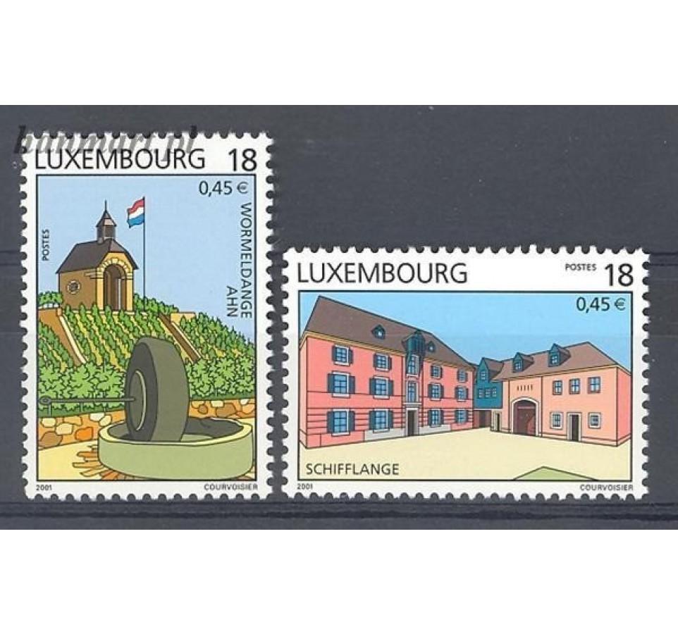 Luksemburg 2001 Mi 1524-1525 Czyste **