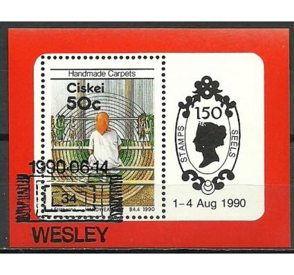 Znaczek Ciskei 1990 Mi bl 5 Stemplowane