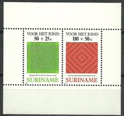 Znaczek Surinam 1987 Mi bl 45 Czyste **
