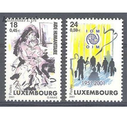 Znaczek Luksemburg 2001 Mi 1535-1536 Czyste **