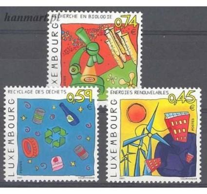 Znaczek Luksemburg 2001 Mi 1550-1552 Czyste **