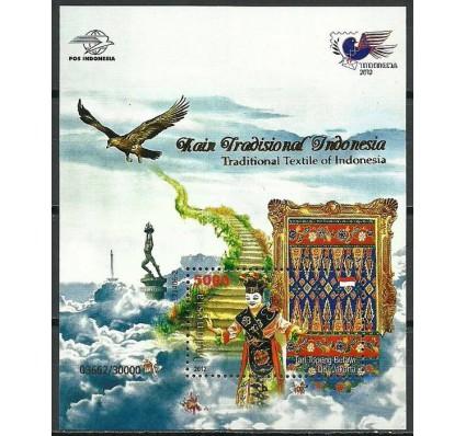 Znaczek Indonezja 2012 Mi bl 285I Czyste **