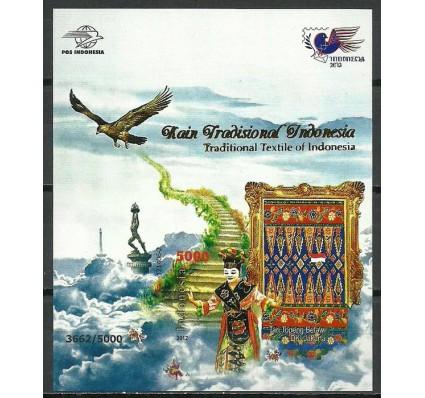 Znaczek Indonezja 2012 Mi bl 285IIB Czyste **