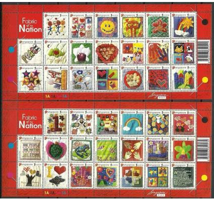 Znaczek Singapur 2005 Mi ark 1427-1466IA Czyste **