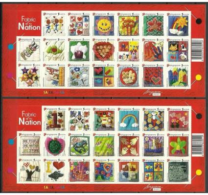 Znaczek Singapur 2005 Mi fol 1468-1507 Czyste **