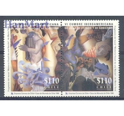 Znaczek Chile 1996 Mi 1800-1801 Czyste **