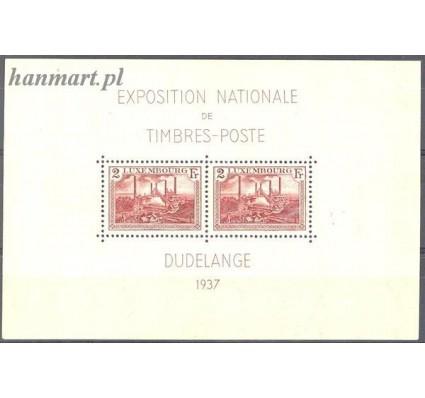 Luksemburg 1937 Mi bl 2 Czyste **