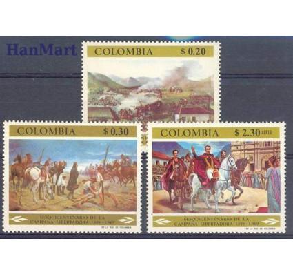 Znaczek Kolumbia 1969 Mi 1151-1153 Czyste **